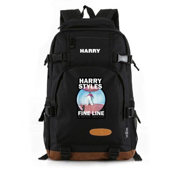 Harry Styles Mochila Women men Laptop Bag College student School Bags Girls Boys