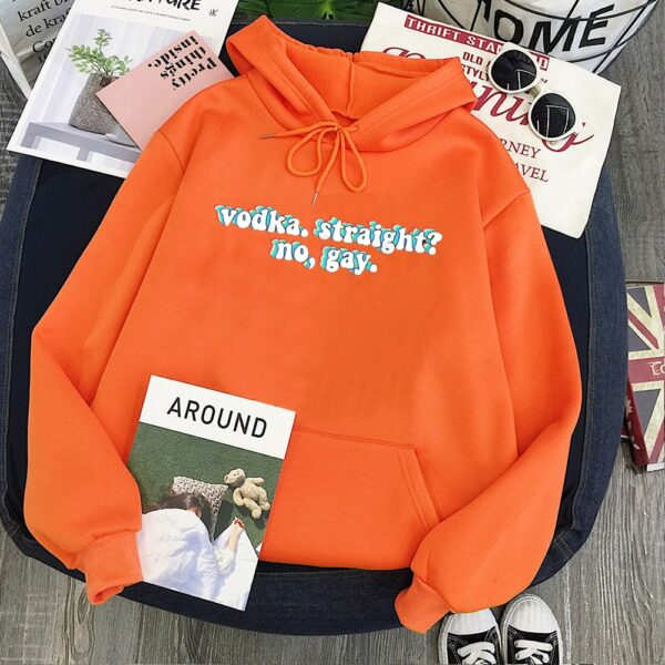 Harry Styles Sweatshirt Vodka Straight Women Hoodies Drinking Casual Letter Womens