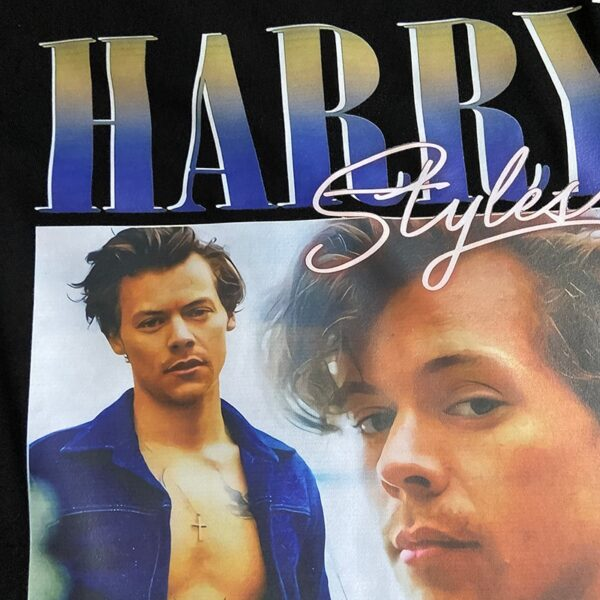 Harry Style Casual T Shirt Hip Hop Streetwear
