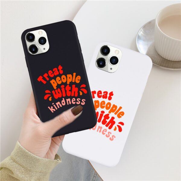 GYKZ Harry Styles Treat People With Kindness Phone Case For iPhone XS MAX 11Pro 12 X XR 7 8