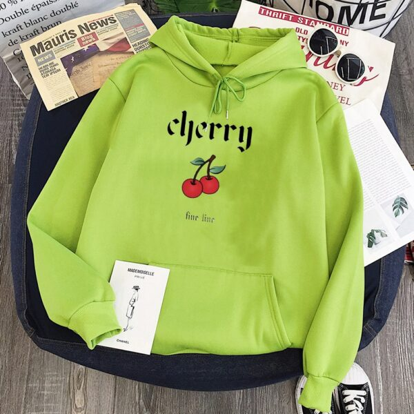 Cherry Hoodies Harry Styles Print 2020 Casual Pullovers