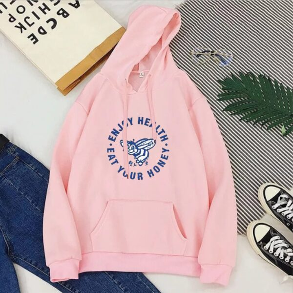 "Harry Styles ""Enjoy Health Eat Your Honey"" Sweatshirt Hoodies Women's"