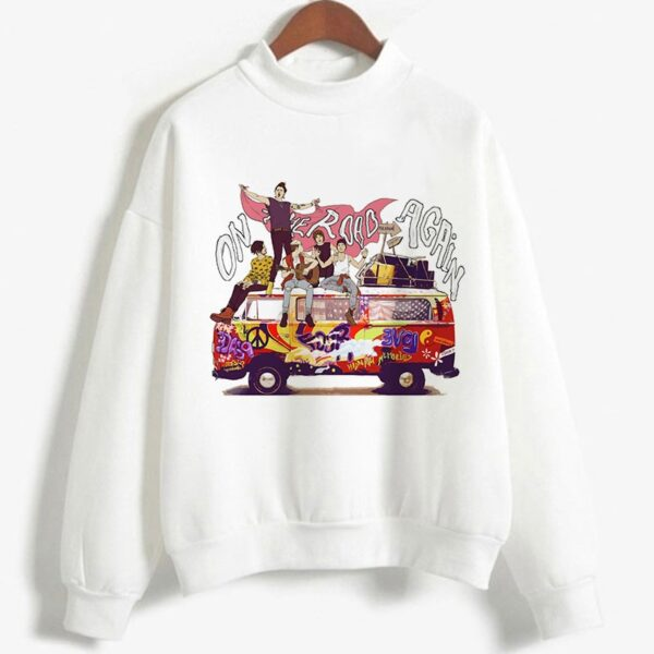 Harry Styles One Direction On the Road again Tour Sweatshirt for Men Women
